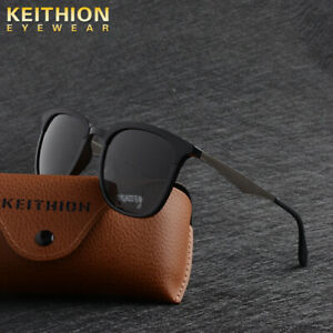 KEITHION-TR-90-Polarized-Sunglasses-Mens-Square-Traval-Outdoor-Driving-Eyewear