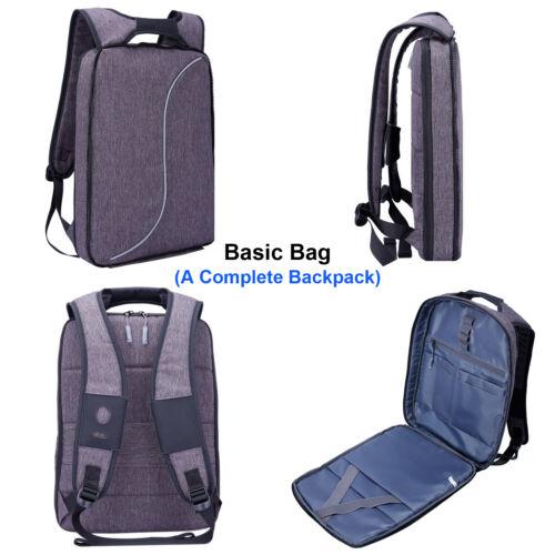 """Women/'s Portable Light Slim Backpack Men Lightweight 14/"""" 15.6 Inch Laptop Bag"""