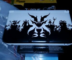 Nintendo-3DS-LL-Shin-Megami-Tensei-IV-White-Limited-Video-Game-Console-NO-BOX