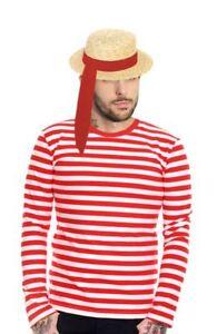 Adults-Unisex-Venetian-Gondolier-Kit-Italian-Fancy-Dress-Venice-Gondola-Costume