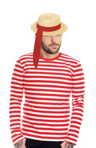 Adults Unisex Venetian Gondolier Kit Italian Fancy Dress Venice Gondola Costume