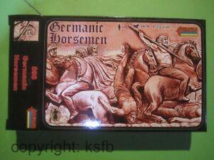 1-72-Strelets-098-Antike-Germanen-germanische-Reiter-Krieger-Kaempfer-Roemer-Zeit
