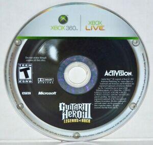Guitar-Hero-III-Legends-of-Rock-Microsoft-Xbox-360-2007-GH-3-Video-Game-MINT