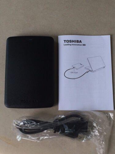 Toshiba black 500GB Canvio Basics USB 3.0 Portable External Hard Drive