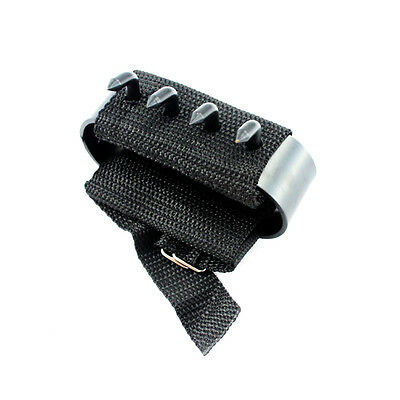 (2-Pack) Ninja Hand Claws Climbing Defense Spikes Fully Adjustable Tekagi Shuko