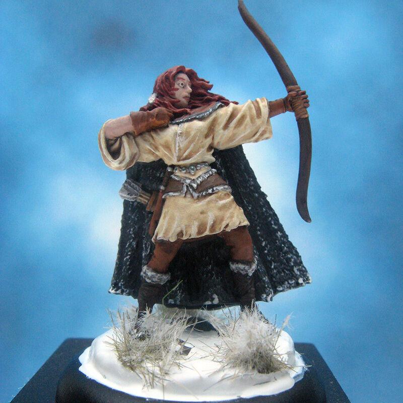 Painted Darksword  Miniature Game of Thrones Wilding Spearwife  bienvenue à choisir