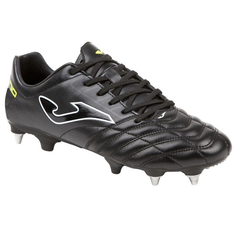 Joma zapatos Calcio hombres - Numero 10 Pro 801 negro Soft Ground