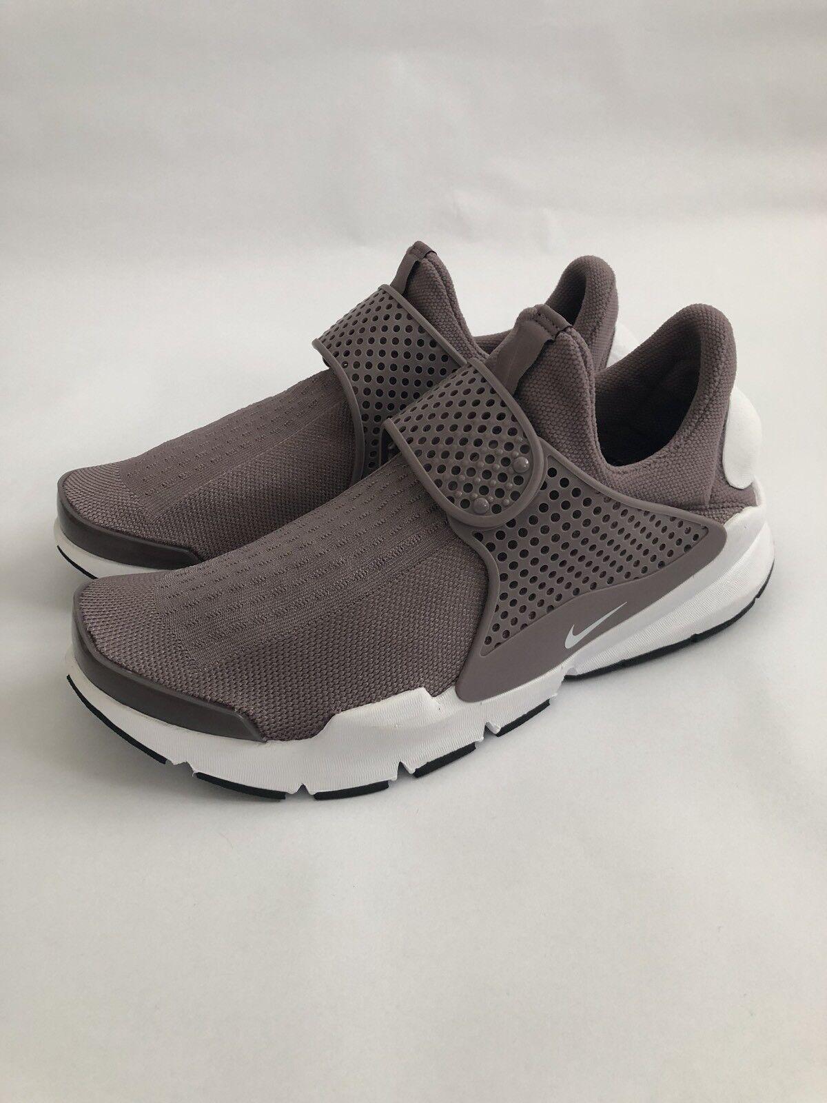 NUOVO  Nike SOCK Dart GRIGIO TALPA BIANCO-NERO 848475-201 Taglia Taglia Taglia prezzo consigliato  .95 c16c37
