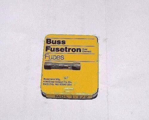 Bussmann Buss Fusetron Fuses MDL 1-1/2 Lot of 5