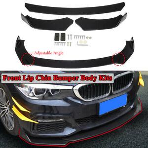Front-Pare-chocs-spoiler-levre-eclats-Nior-Look-pour-BMW-e36-e36-e46-e60-e63