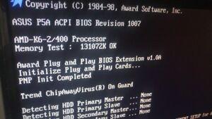 Asus-P5A-Rev-1-04-Bios-Rev-1007-AMD-K62-400Mhz-128MB-Ram-Industrial-PC-board