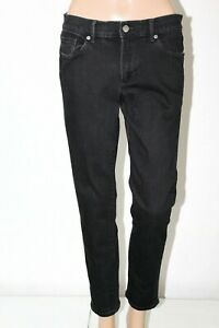 BANANA-REPUBLIC-Women-039-s-Size-30-31-Black-Skinny-Ankle-Stretch-Jeans-28-034-Inseam