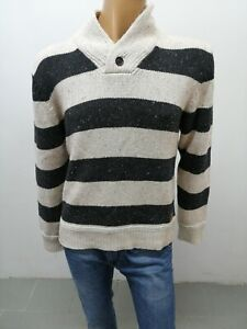 Maglione-LEE-uomo-taglia-size-L-man-maglia-maglietta-t-shirt-cotone-P-6015