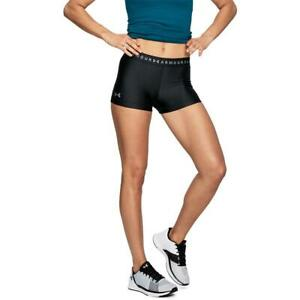 Under-Armour-UA-HeatGear-Compression-Shorty-Damen-Tights-Shorts-Trainingsshorts