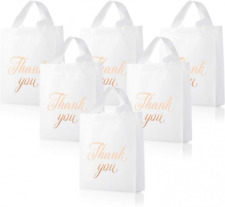 120 Pieces Thank You Merchandise Bags 9 X 12 Inch Retail Shopping Goodie Bag