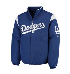 MLB Los Angeles Dodgers Majestic Men s Premier Jacket - Royal Blue ... 051eb2d7976