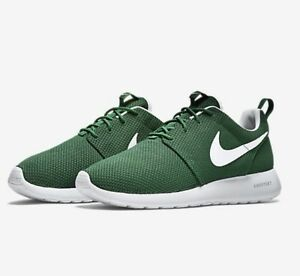 NIKE ROSHE ONE GORGE GREEN WHITE MEN S MESH RUNNING SHOES  c3ca6f949cd4