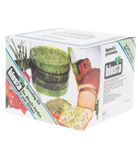 Biosta Sprouter The Miracle Garden 3 étages germination Kit-Clear Color