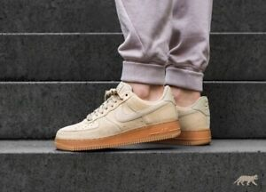 Details about Nike Air Force 1 '07 LV8 Suede Mushroom Gum Uk Size 13 Eur 48.5 AA1117 200