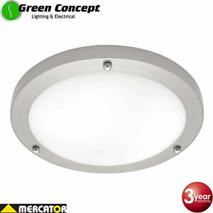 Mercator noosa 30w led chrome silver oyster ceiling light warm white image is loading mercator noosa 30w led chrome silver oyster ceiling mozeypictures Gallery