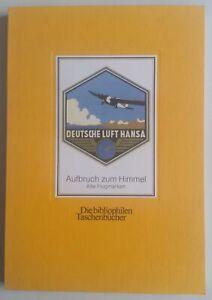 Deutsche-Luft-Hansa-Aufbruch-zum-Himmel-Alte-Flugmarken-Briefmarken