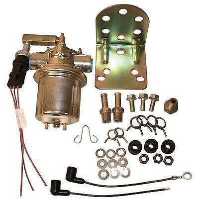 New 4.3L Marine Engine Electric Fuel Pump Kit Includes Bracket /& Hardware