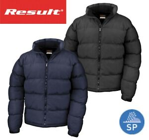 RESULT-MENS-Down-Feel-Warm-Padded-Puffer-Jacket-Autumn-Winter-Coat-Black-Navy