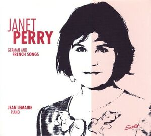 Janet-PERRY-German-and-French-Songs-1-CD-NEUF
