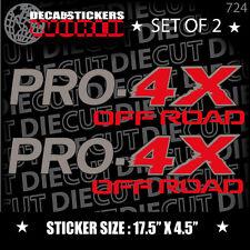 *NEW* 4X4 SPORT OFFROAD DECAL STICKER FITS TITAN PRO-4X FRONTIER XTERRA SUV 723