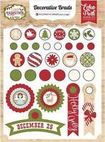 Echo Park i Love Christmas Decorative Brads Scrapjack's Place