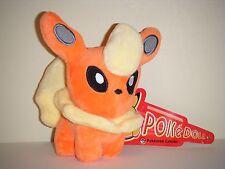 """Pokemon Center FLAREON Plush Stuffed Toy 5""""/12cm Kids Doll Gift US SELLER"""