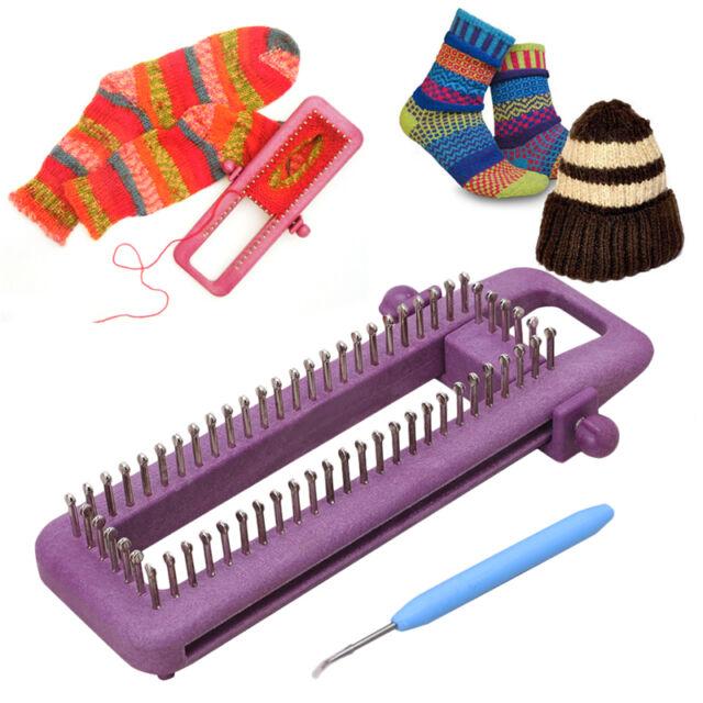 Adjustable Sock Loom Kit Knitting Socks Scarf Hat DIY Hand Craft ...