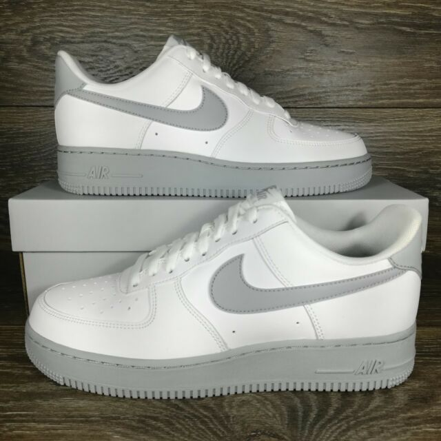 Nike Air Force 1 Low '07 'White Wolf Grey Sole' Sneakers (CK7663-104) Men's  Size