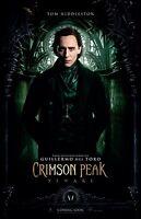 Crimson Peak Movie Poster 11 X 17 - Tom Hiddleston Poster (a)