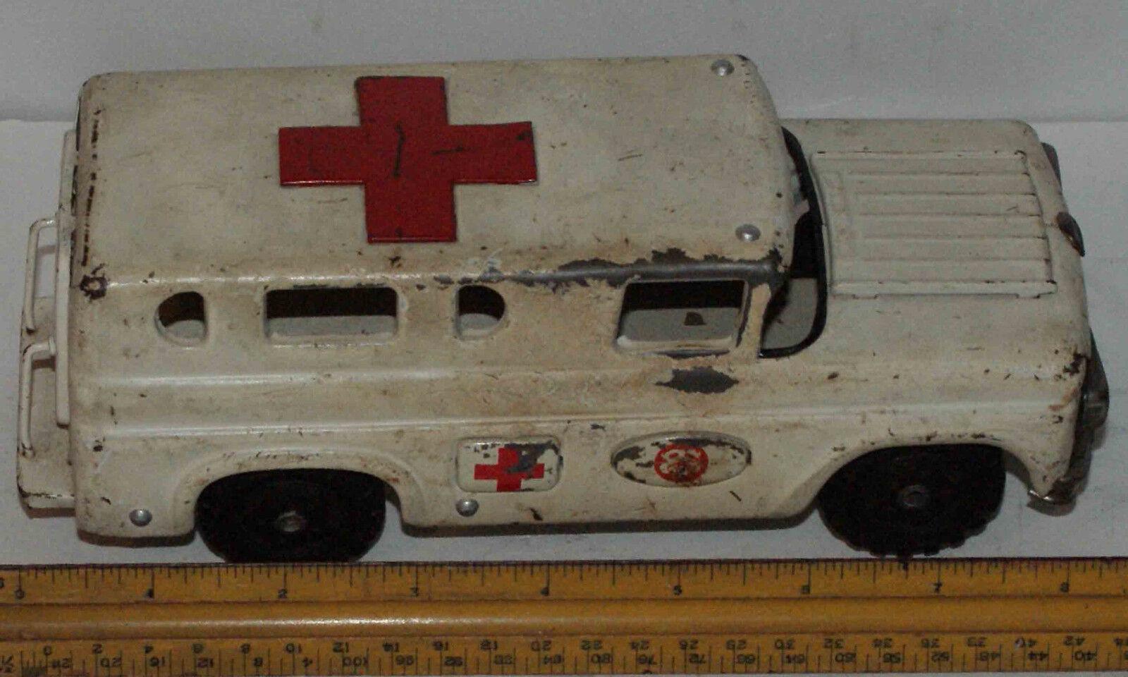Hecho en Japón, Sans Tire De Juguete Ford ambulancia