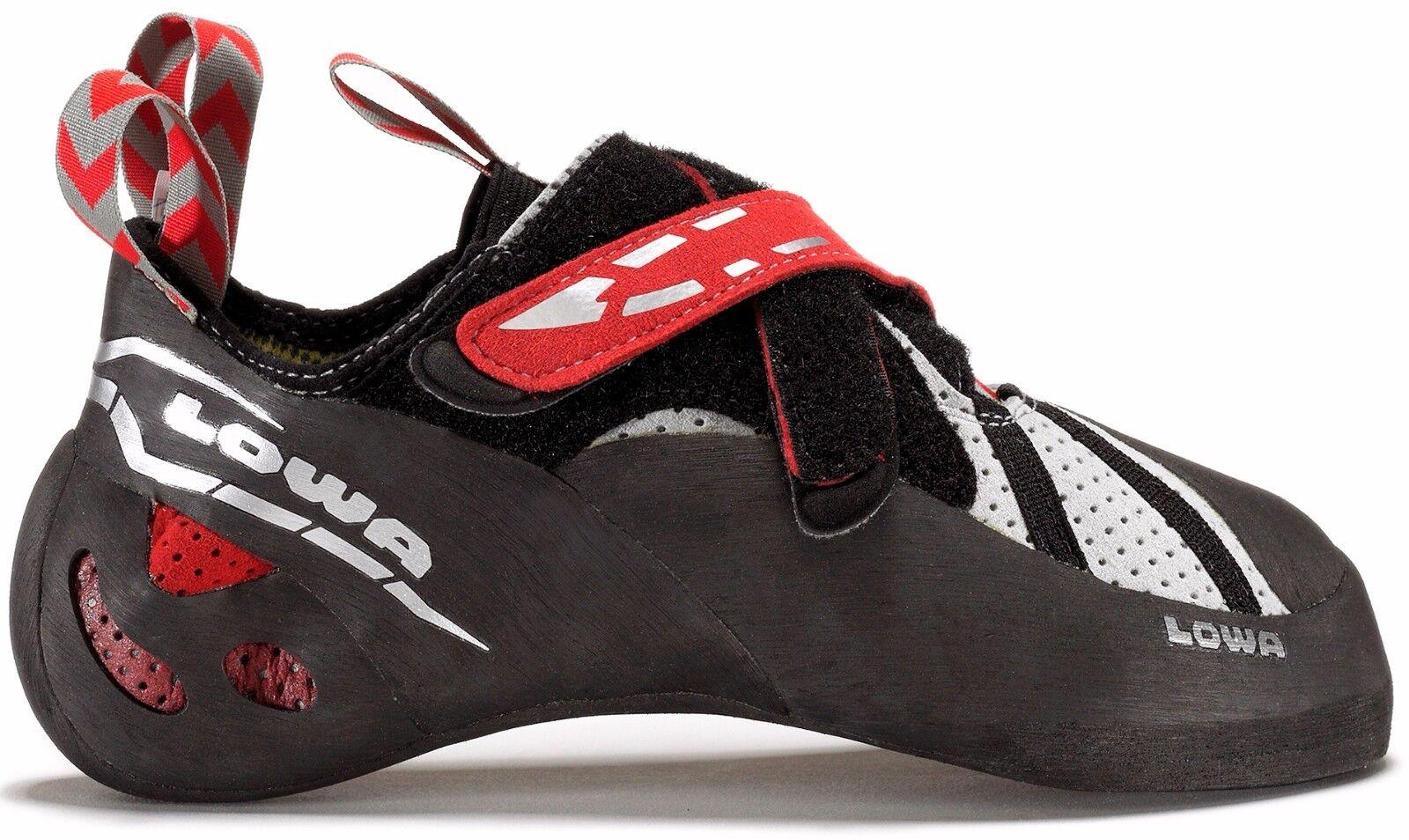Lowa X-Boulder Para Hombre Zapato Rojo Negro Alpine Escalada 9.5