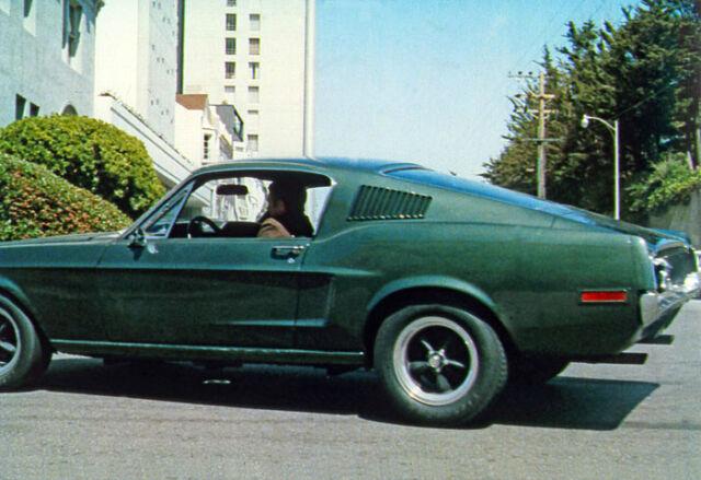 STEVE McQUEEN 1968 Bullitt 8x10 DODGE CHARGER & FORD MUSTANG color still #27