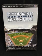 The New York Yankees Essential Games of Yankee Stadium DVD