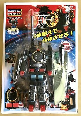 Polyfect japonais Transforming Robot action figure steel Divine importés train