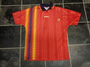 PEP-GUARDIOLA-SIGNED-1994-SPAIN-FOOTBALL-SHIRT-COA-MANCHESTER-CITY-BARCELONA