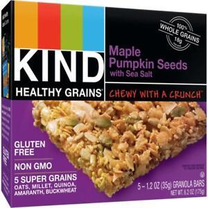 Kind Fruit and Nut Bars-Healthy Grains Granola Bars - Maple Pumpkin Seeds Wit...