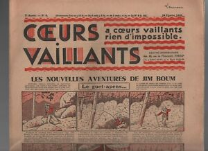 COEURS-VAILLANTS-1935-N-8-Tintin-et-Milou-en-Orient