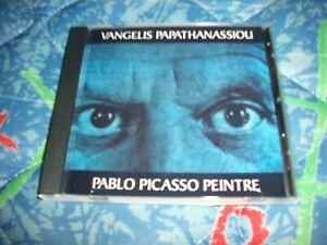 VANGELIS-PABLO-PICASSO-PEINTRE-CD