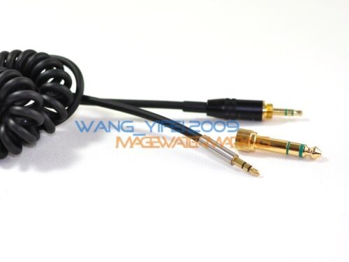 Generic DJ Coiled Audio Cable For Sony MDR 10R 1R NC 1RBT Z1000 7520 Headphones