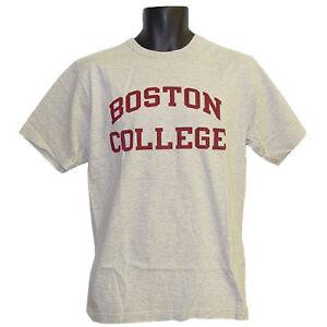 fc4a466e1d9c Image is loading Boston-College-Big-Heavy-Gray-Champion-T-Shirt-