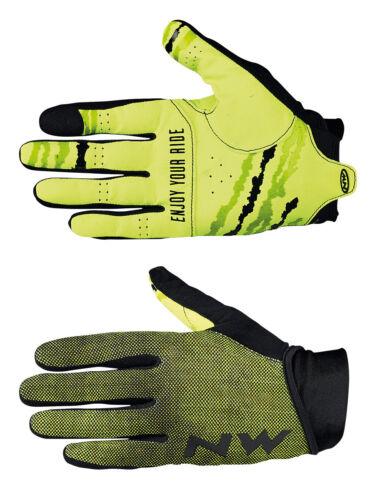Northwave MTB Air 3 Fahrrad Handschuhe lang gelb//schwarz 2019