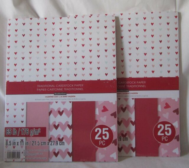 "Recollections Cardstock Paper 8 1//2/"" x 11/"" 25 Sheets GOLD FOIL single color"