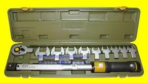 PROXXON-23342-Drehmomentschluessel-MC200-MULTI-mit-10-Aufsteckwerkzeugen-Koffer