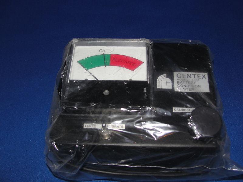 Gentex Battery Condition Tester Model 6030
