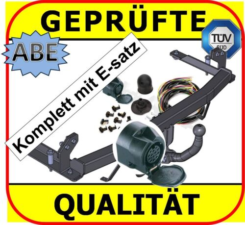 AHK /& ES13 Opel Corsa C Bj 00-06 Anhängevorrichtung mit E-Satz komplett F08 F68